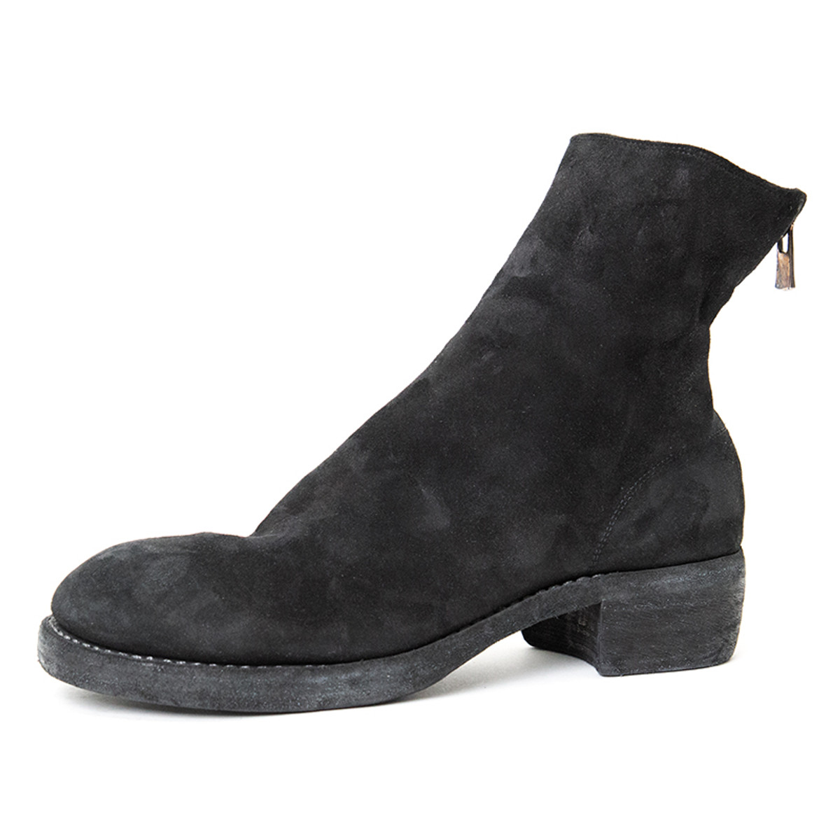 83ae72fc7 Guidi Suede Back-Zip Leather Boot for Men | Alan Bilzerian