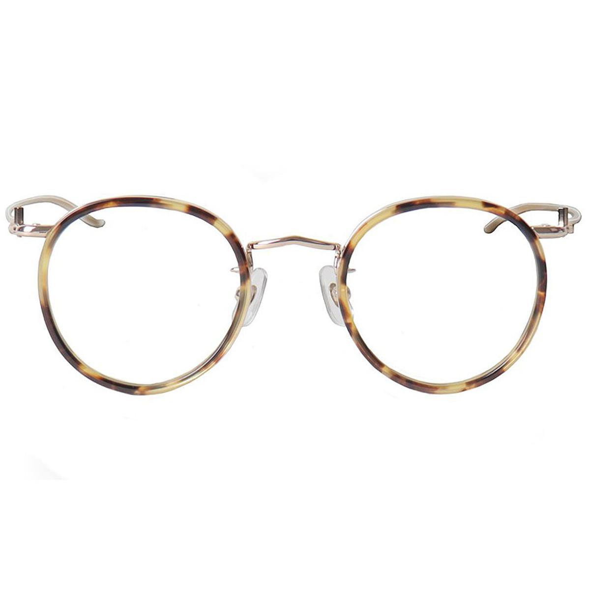 414227648d046 LIYUE Nerd Round Glasses men Vintage Round metal optical Frame for girl  Gold Eyewear Frame Glasses