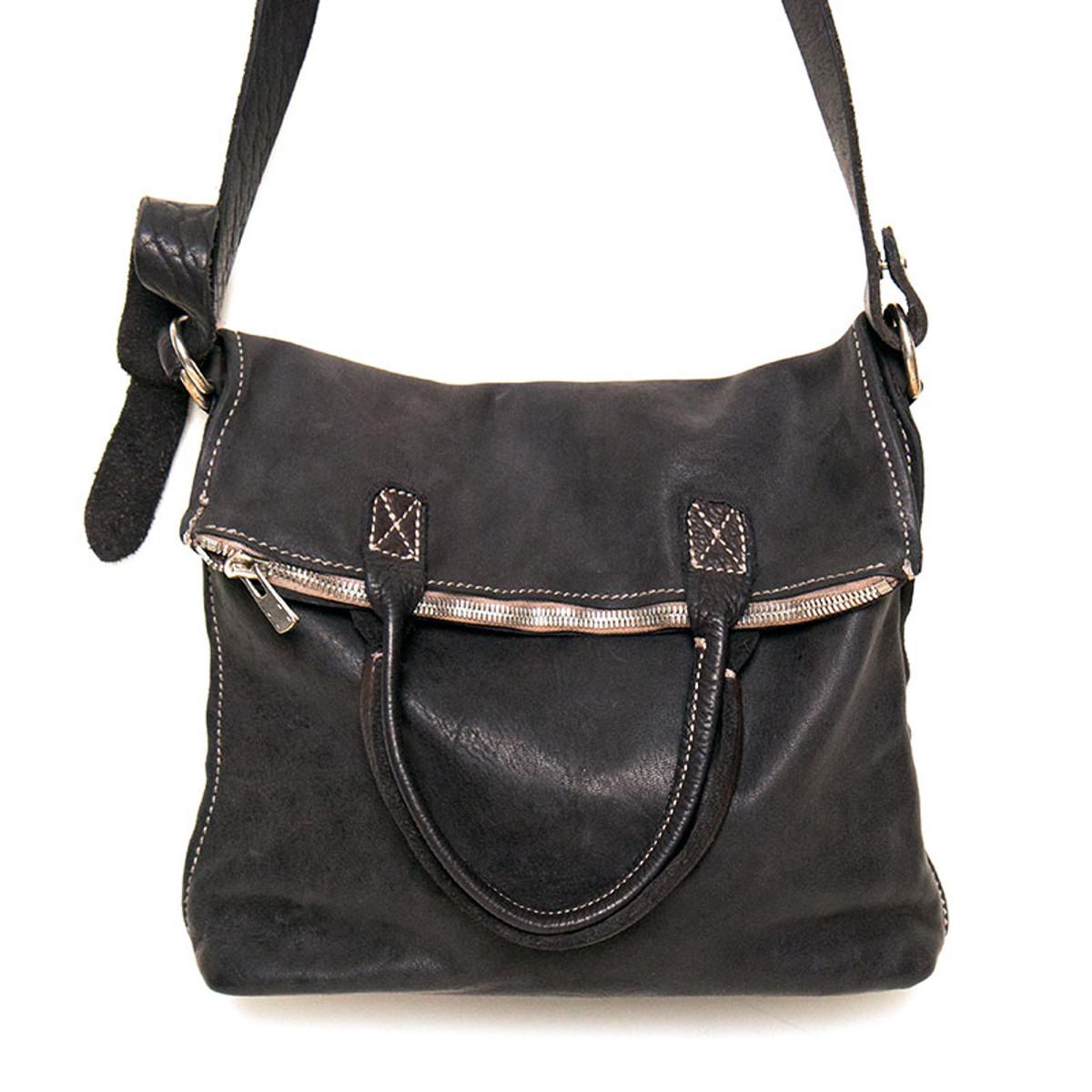 c974b16e5b67 Guidi Leather Messenger Bag