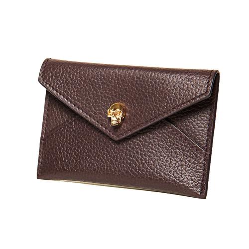 Burgundy Envelope Card Case