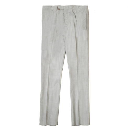 White 'Rusted' Breadstick Trouser