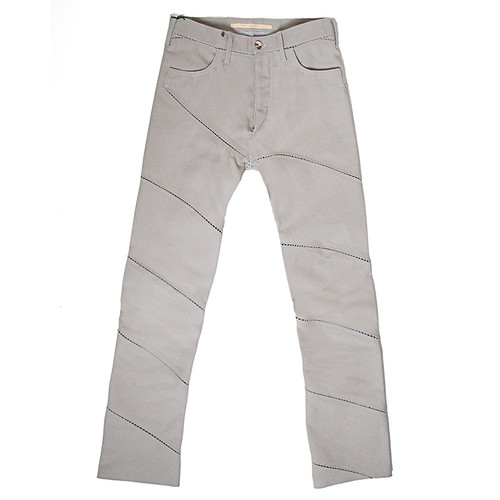 Horizontal Ladder Seam Trouser