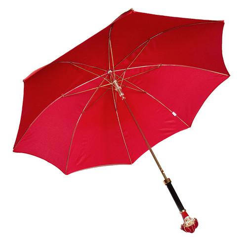 Red Jester Long Umbrella