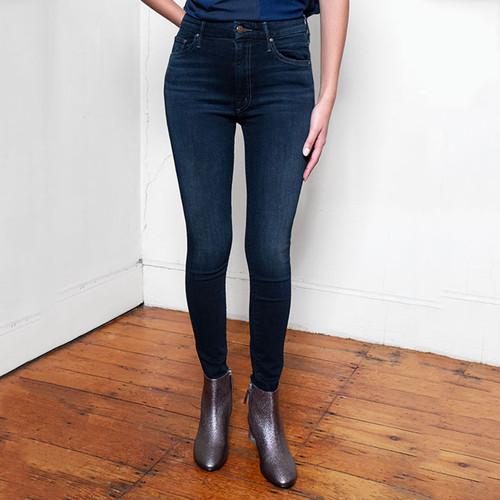 High-Waist Looker Jeans in Dark Wash