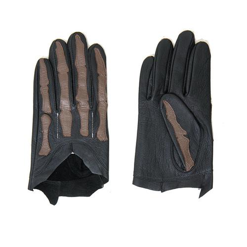 Skeletal Leather Gloves