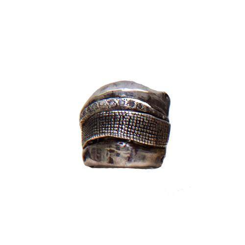 Silver Bondage 'I' HUNROD Ring