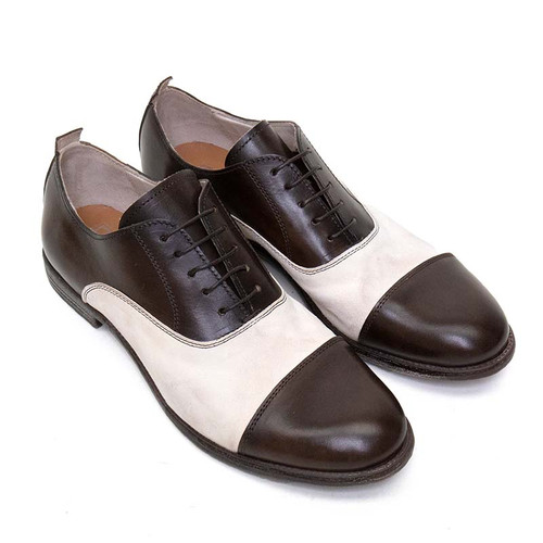 Brown Spectator Shoe