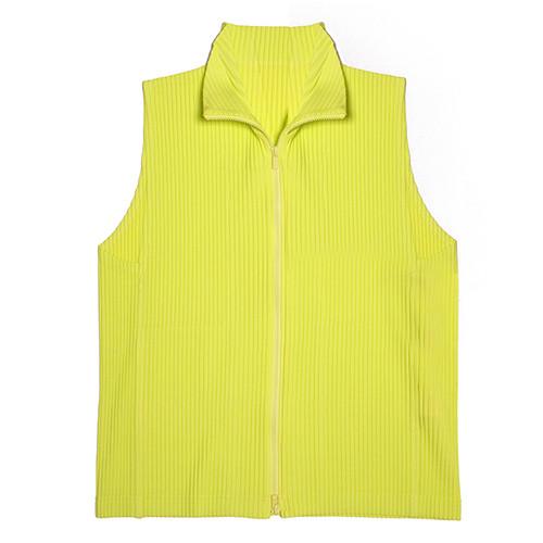Highlighter Pleated Vest