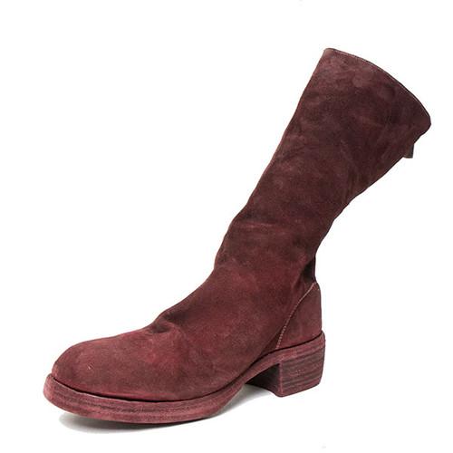 Back-Zip Boot in Bordeaux