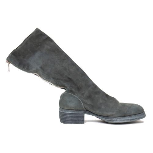 Back-Zip Boot in Olive