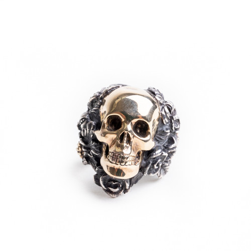 Skull Foliage Ring