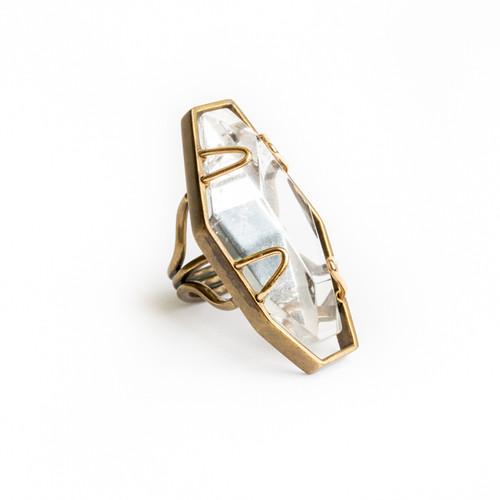 Encapsulated Stone Ring