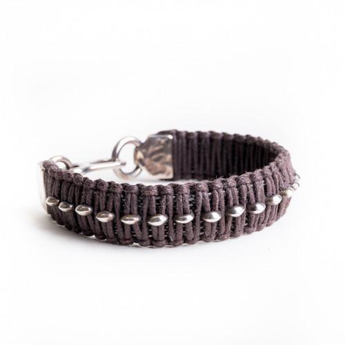 Woven Silver Accent Bracelet