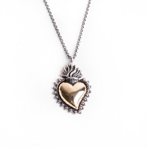 Secret Heart Pendant Necklace
