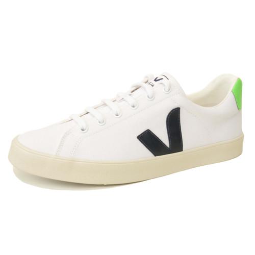 Esplar Canvas White Nautico & Absinthe Sneaker