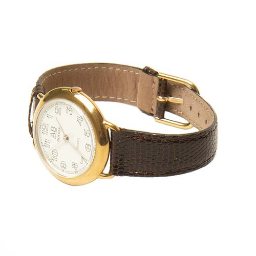 AB Lizard Leather Watch