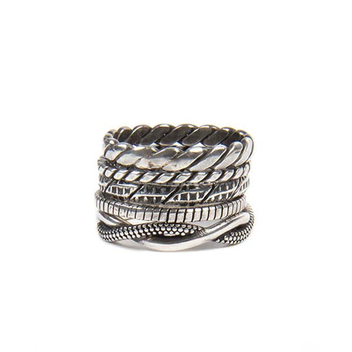 Five Band Stacked Ring