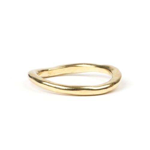 Gold Twist Ring