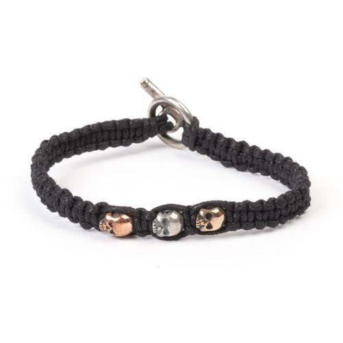 Triple Skull Bracelet
