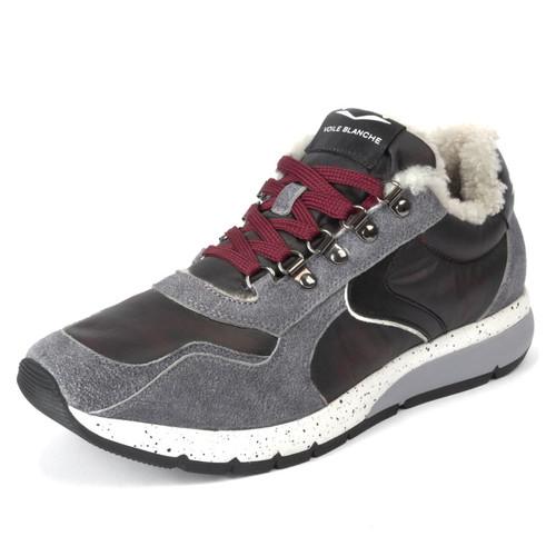 Grey Lenny Hook Fur Sneaker