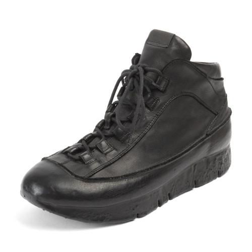 Leather Cuffed Sneaker