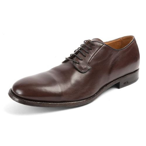 Lace Up Oxford With Toe Cap