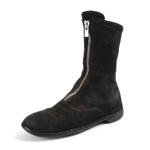 Soft Horse Reverse Zip Boot