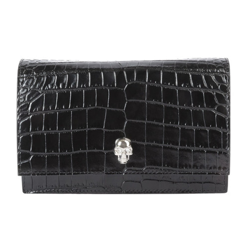 Crocodile Mini Skull Bag