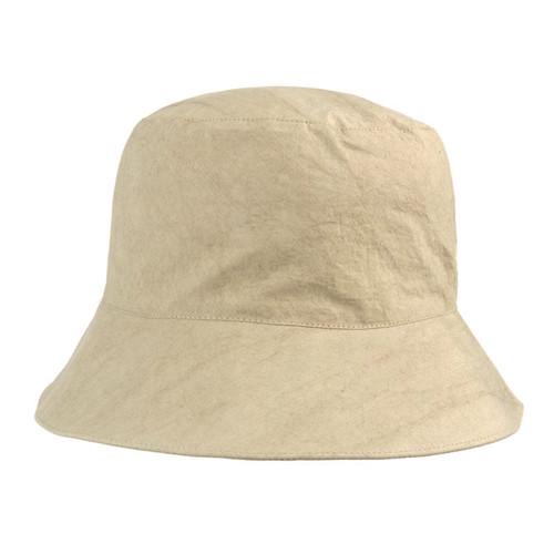 Sage Crinkle Cotton Bucket Hat