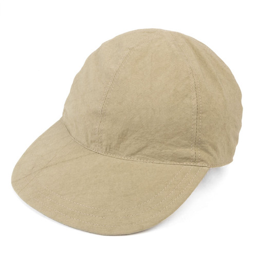 Sage Crinkle Cotton Cap