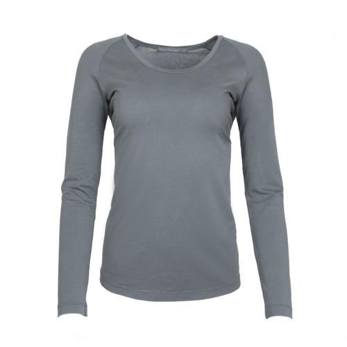 Scoop Neck Long Sleeve Shirt