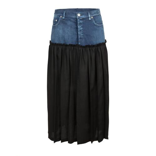 Denim Wrap Around Skirt