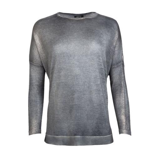 Side Slit Knit Pullover