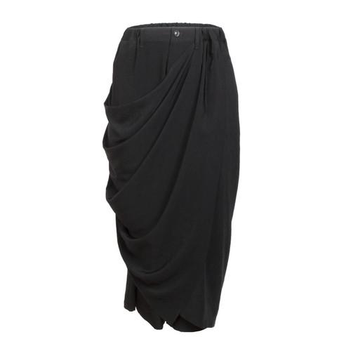 Draped Skirt Trousers