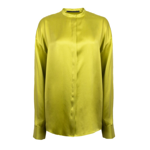 Lime Panel Blouse