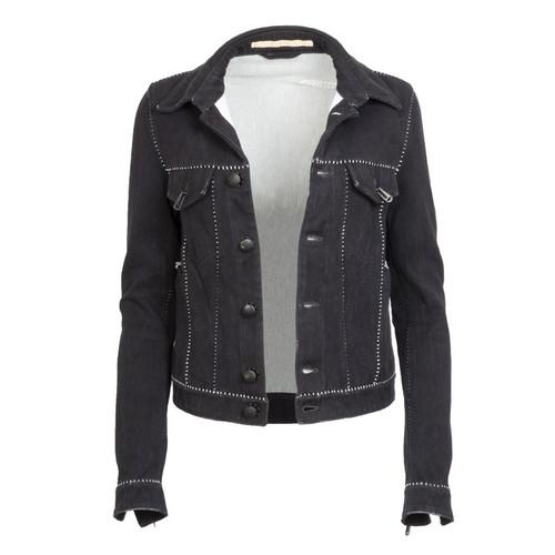 Black Dead End Denim Jacket