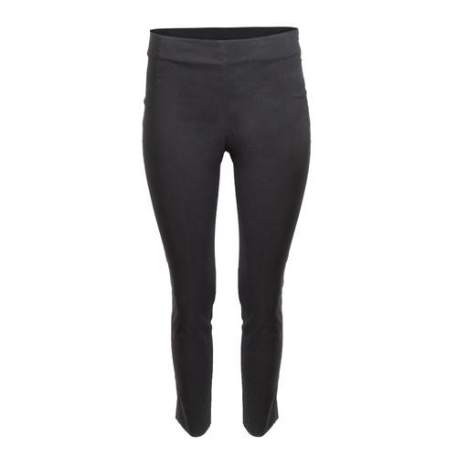 Basic Black Cropped Skinny Pant