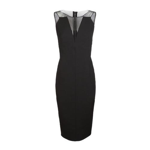 V-Neck Zip Back Dress