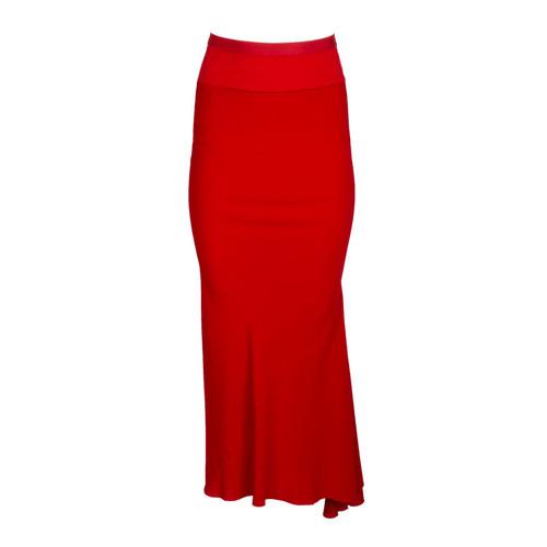 Bias-Cut Silk Skirt