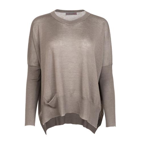 One Pocket Oversized Sweater