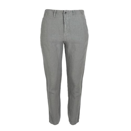 Slim Leg Linen Pant