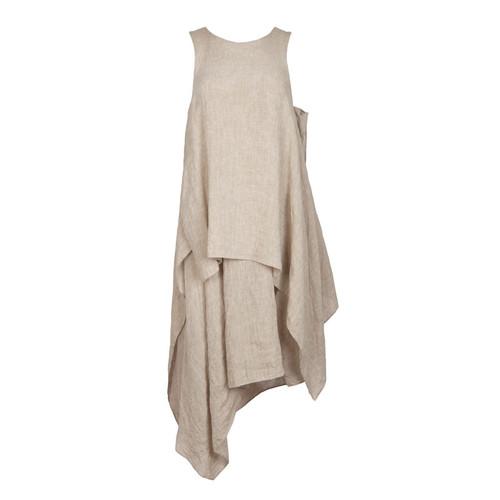 Linen Kerchief Dress