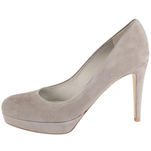 Grey Suede High Heel