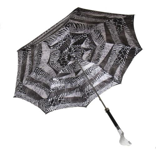 Silver Cobra Long Umbrella