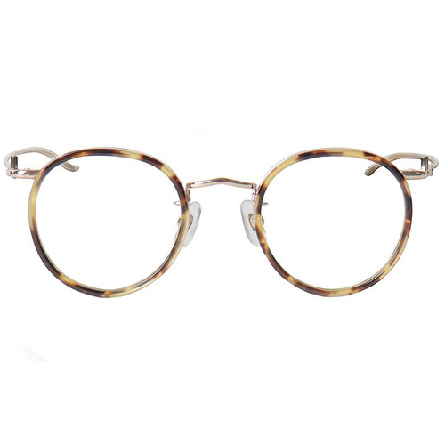 Tortoise Rim Gold Frame Glasses