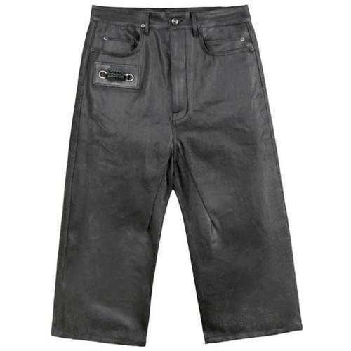 Black Cropped Keyring Trouser