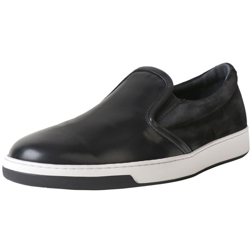 Two Texture Slip On Sneaker