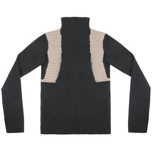 Funnel Neck Wool Sweater