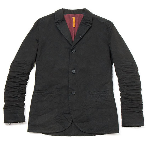 Black Corded Cotton Jacket