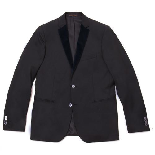 Navy Velvet Tuxedo Suit